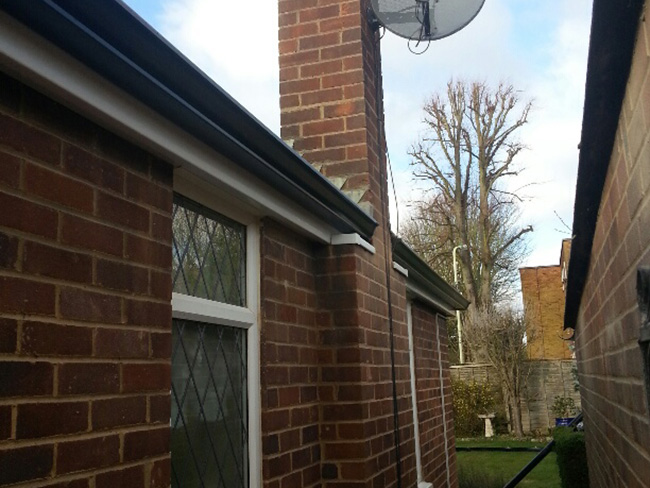 concrete gutter repairs Hereford